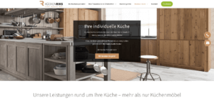Küchen Riks Referenz upcite Online-Marketing